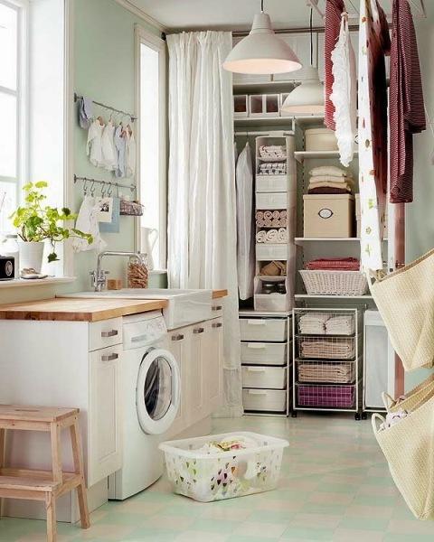 Camuflajes para lavadero en la cocina – Decoración