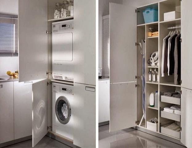 Camuflajes para lavadero en la cocina decoraci n for Lavaderos de cocina