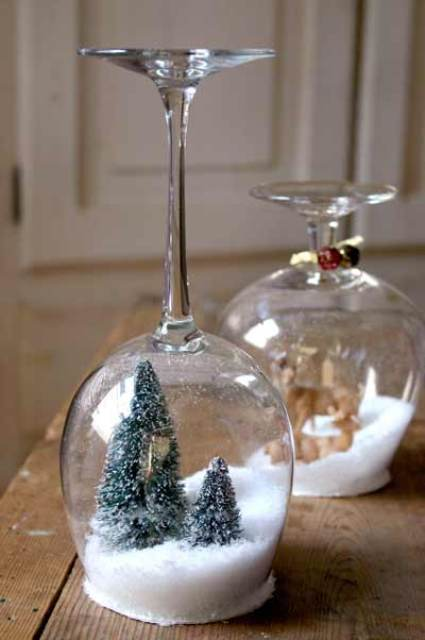 Bolas de nieve let it snow decoraci n for Bolas de cristal decorativas